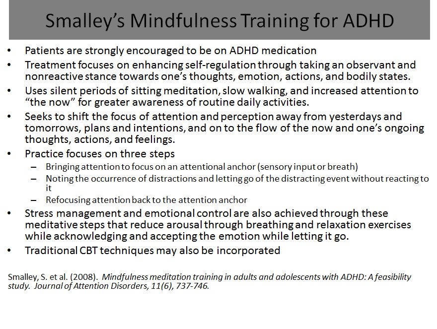 adhd in adults treatment and long term management by russell